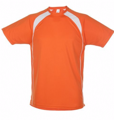 11422 SOL'S Match Contrast Performance T-Shirt